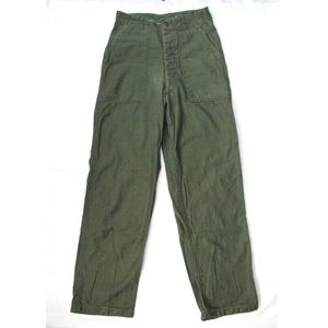 Vintage high waisted military pants. Size 8